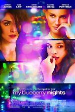 POSTER MY BLUEBERRY NIGHTS UN BACIO ROMANTICO JUDE LAW