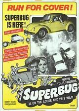 VW VOLKWAGEN original 1971 one sheet movie poster SUPERBUG