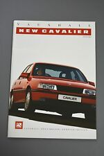 Car Brochure, Vauxhall Cavalier Mk3 1988 4x4 GSi Hatch Saloon CD GL