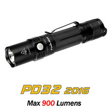 Fenix PD32 2016 Cree XP-L HI LED 900 Lumens 18650 Side Switch Flashlight Torch