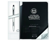Cross Star Wars, Stormtrooper Click Gel Ink Pen & Jot Zone Journal AT0625SD-18/1