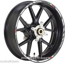 Piaggio Beverly 350 - Adesivi Cerchi – Kit ruote modello racing tricolore
