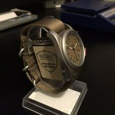 Bertucci A-2T Vintage Matte Titanium Watch (For Men and Women) Khaki