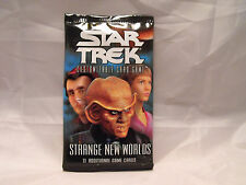 STAR TREK CCG 2E STRANGE NEW WORLDS SEALED BOOSTER PACK OF 11 CARDS