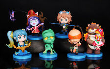 LOL League of Legends 6PCS Figures Annie Sona Ezreal Amumu LeeSin LuLu Gift NIB