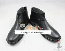 Black Butler Kuroshitsuji Sebastian·Michaelis Boot Party Shoes Cosplay Boots