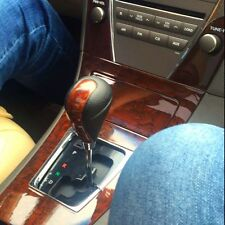 Wood Leather Gear Shift Knob for TOYOTA Camry Crown Corolla Lexus RX GS ES LS IS
