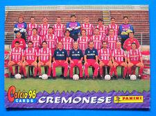 CARDS PANINI CALCIO 96 - N. 13 - SQUADRA - CREMONESE