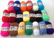 20 X Balls of King Cole Dolly Mix Brights Double Knitting Wool - Great for toys