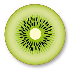 """Pin Button Badge Ø25mm 1"""" Kiwi Fruit Vegetal Vitamine Graine Botanique Arbre"""