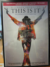 Michael Jackson This is it movie Vintage Poster 2009 2532