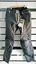 PANTALONI SPIDI P. ALTER MAN NERO TG. 52 LEATHER MOTORCYCLE PANTS