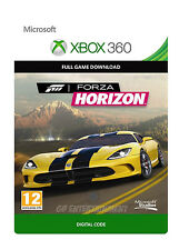 Forza Horizon XBOX 360 GIOCO COMPLETO XBOX ONE Chiave di download digitale