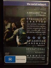 THE SOCIAL NETWORK ~2 DISC DVD SET~ FACEBOOK~JESSE EISENBERG + JUSTIN TIMBERLAKE