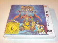 Nintendo 3DS xl Spiel Pokemon Super Mystery Dungeon Neu ungeöffnet versiegelt