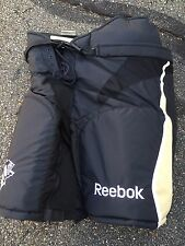 PITTSBURGH PENGUINS Reebok Black Large L+2 MPH520 NEW Hockey Pants Pro Stock