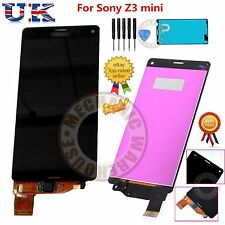 For Sony Xperia Z3 Mini Compact D5803 D5833 LCD Touch Screen Display Digitizer