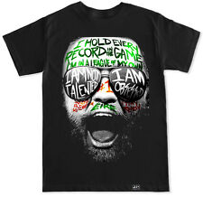 CONOR GRAFFITI MCGREGOR NOTORIOUS MMA HUNT IRELAND IRISH 200 GYM WORKOUT T SHIRT
