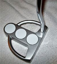 3- BALL PUTTER, KARMA MID SIZE GRIP, SINGLE SOFT INSERT, APOLLO  SHAFT