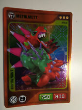 CARTE INVIZIMALS N° 182 METALMUTT NOUVELLE ALLIANCE RAYONNANT NEUF