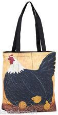 """Tasche zum Umhängen, witziges Tiermotiv, praktisch """"Huhn mit Küken"""" 4123"""
