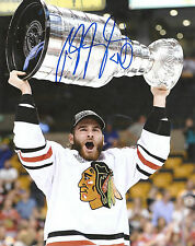BRANDON SAAD 'CHICAGO BLACKHAWKS' SIGNED STANLEY CUP SIGNED 8X10 PICTURE *COA 2