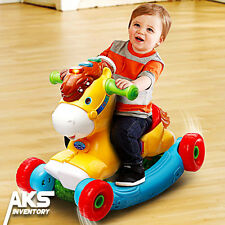 Rocking Horse VTech Gallop & Rock Learning Pony Kids Child Toddler Toy Play New