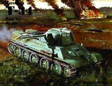 The Russian T-34 Battle Tank (Schiffer Military History)