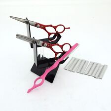 "Professional 6"" Hair Cutter Hair Shaping Scissors +Pink Razor Salon Styling Kit"