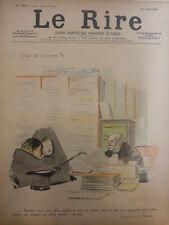 1897 NOTAIRE DESSIN FORAIN AVANT MARIAGE ENFANT NATUREL RECONNU