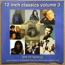 12 Inch Singles Volume 3 - The Hit Factory Stock Aitken & Waterman Rare CD OPP
