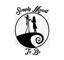 Jack Sally Love , Nightmare Before Christmas , Love , In home Wall decal