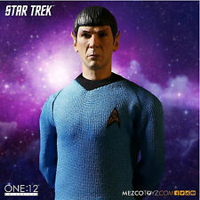 STAR TREK - SPOCK ONE:12 COLLECTIVE ACTION FIGURE 1:12 SCALE BRAND NEW IN BOX!!