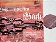BACH Violinkonzert Violin Concerto Szeryng Rybar 1.ED.Philips Maroon grooved NM