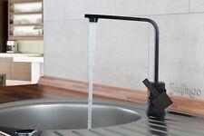 Black Designer Kitchen Sink Mixer Tap / Taps / Faucet Sanlingo