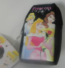 NEW DISNEY PRINCESS WRIST COIN WALLET POUCH (BLACK)