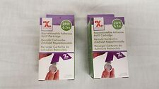Set of 2 Xyron Repostionable Adhesive Refill Cartridges
