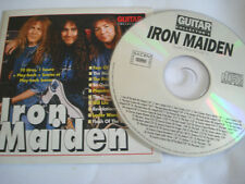 CD IRON MAIDEN GUITAR COLLECTOR'S n° 17 play back basse