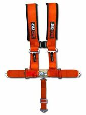 "Orange Racing Harness Seat Belt 5 Point 2"" Mustang Chevelle Camaro Challenger SS"
