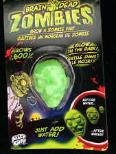 Magic Grow GLOW ZOMBIE SEVERED HEAD-Walking Dead Body Part-Halloween Horror Prop