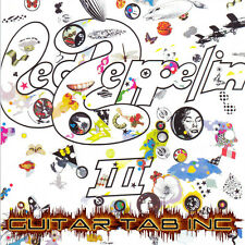 Led Zeppelin III Guitar & Bass Tab Lessons on Disc 3 three