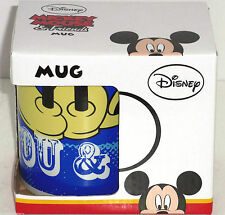 Disney Mickey Minnie Mouse Me You Coffee Mug Cup Gift Boxed