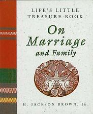 Life's Little Treasure Book on Marriage and Family Life's Little Treasure Books
