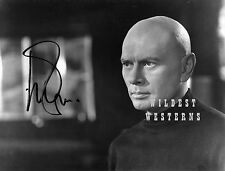 Rare phOtO YUL BRYNNER portrait KING AND I and MAGNIFICENT SEVEN Star