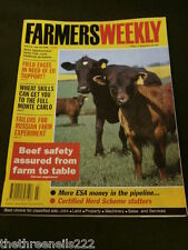 FARMERS WEEKLY - BEEF SAFETY ASSURED - FEB 13 1998