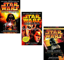 STAR WARS DARK LORD: RISE OF DARTH VADER,REVENGE OF SITH,LABYRINTH OF EVIL new