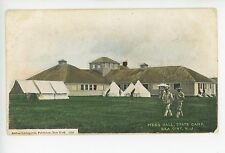 Mess Hall SEA GIRT NJ State Camp Army Military Tents UDB  1908