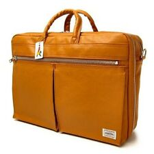 New PORTER FREE STYLE 2WAY BRIEF CASE 707-08208 CAMEL From JP