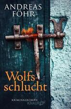 Wolfsschlucht von Andreas Föhr (2016, Taschenbuch)