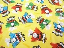 Thomas the tank engine  and friends characters   100% cotton fabric  FQ or yard